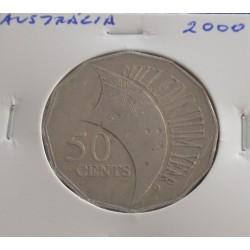 Austrália - 50 Cents - 2000