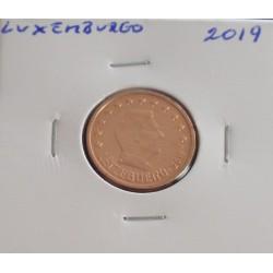 Luxemburgo - 2 Centimos - 2019