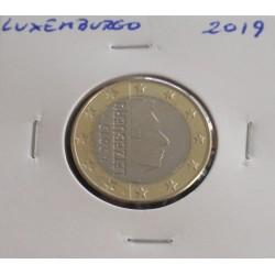 Luxemburgo - 1 Euro - 2019