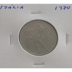 Itália - 50 Lire - 1970