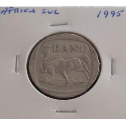 África do Sul - 5 Rand - 1995
