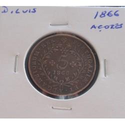D. Luis - 5 Réis - 1866 (...