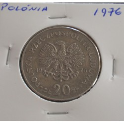Polónia - 20 Zlotych - 1976