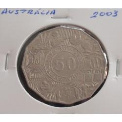 Austrália - 50 Cents - 2003