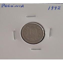 Polónia - 10 Groszy - 1992