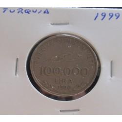 Turquia - 100.000 Lira - 1999