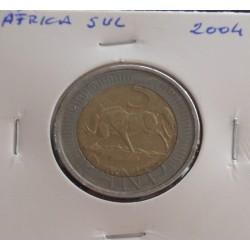 África do Sul - 5 Rand - 2004