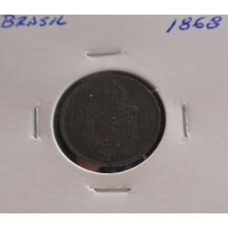 Brasil - 10 Réis - 1868