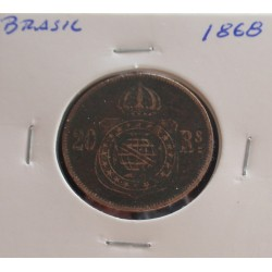 Brasil - 20 Réis - 1868