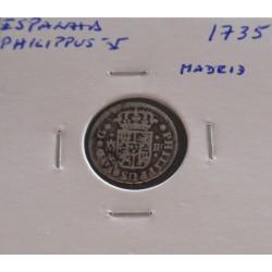 Espanha - Philippus V - 1/2...