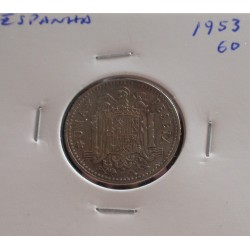 Espanha - 1 Peseta - 1953-60