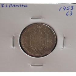 Espanha - 1 Peseta - 1953-63