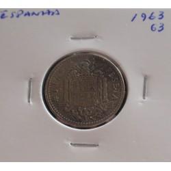 Espanha - 1 Peseta - 1963-63