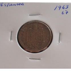 Espanha - 1 Peseta - 1963-67