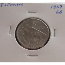 Espanha - 5 Pesetas - 1957-68