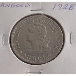 Angola - 50 Centavos - 1928