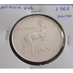 África do Sul - 1 Rand -...