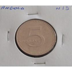 Angola - 5 Kwanzas - N/D (...