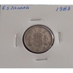 Espanha - 10 Pesetas - 1983