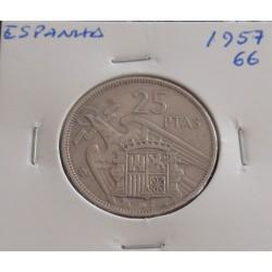 Espanha - 25 Pesetas - 1957...