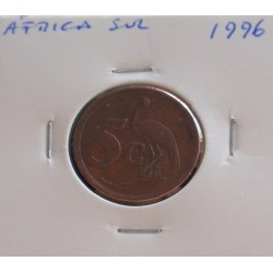 África do Sul - 5 Cents - 1996
