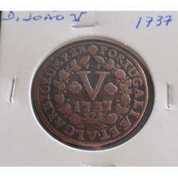 D. João V - V Réis - 1737 -...