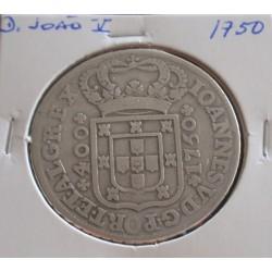 D. João V - Cruzado - 1750...