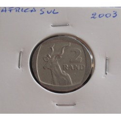 África do Sul - 2 Rand - 2003
