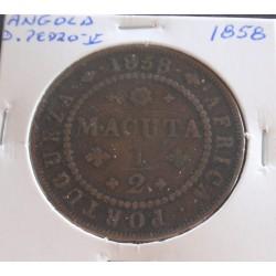 Angola - D. Pedro V - 1/2...