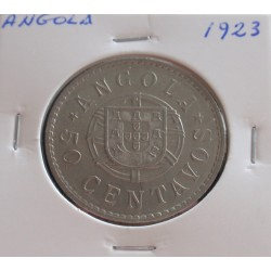 Angola - 50 Centavos - 1923