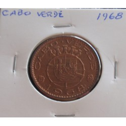 Cabo Verde - 1 Escudo - 1968
