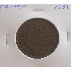 França - 50 Francs - 1951