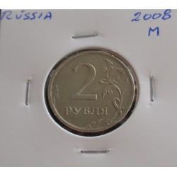 Rússia - 2 Roubles - 2008 M