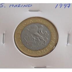 S. Marino - 1000 Lire - 1997