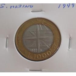 S. Marino - 1000 Lire - 1999