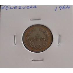 Venezuela - 5 Centavos - 1964