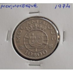 Moçambique - 10 Escudos - 1974