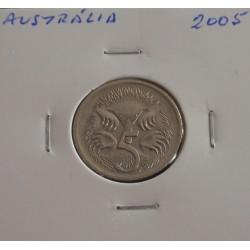 Austrália - 5 Cents - 2005