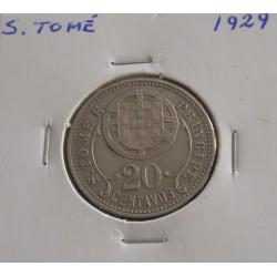 S. Tomé - 20 Centavos - 1929