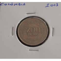 Colômbia - 200 Pesos - 2013