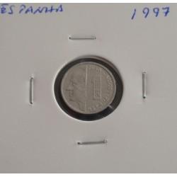 Espanha - 1 Peseta - 1997
