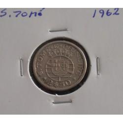 S. Tomé - 2,50 Escudos - 1962