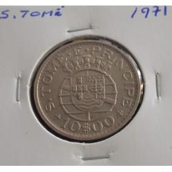 S. Tomé - 10 Escudos - 1971