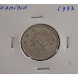 Namíbia - 10 Cents - 1993