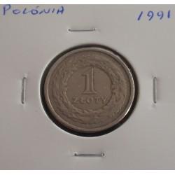 Polónia - 1 Zloty - 1991