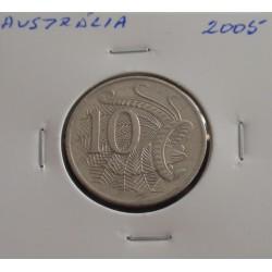 Austrália - 10 Cents - 2005