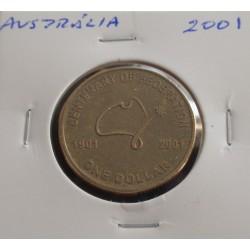 Austrália - 1 Dollar - 2001