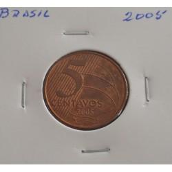 Brasil - 5 Centavos - 2005