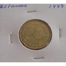 Espanha - 20 Centimos - 1999