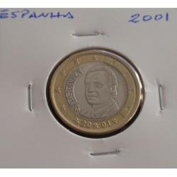 Espanha - 1 Euro - 2001